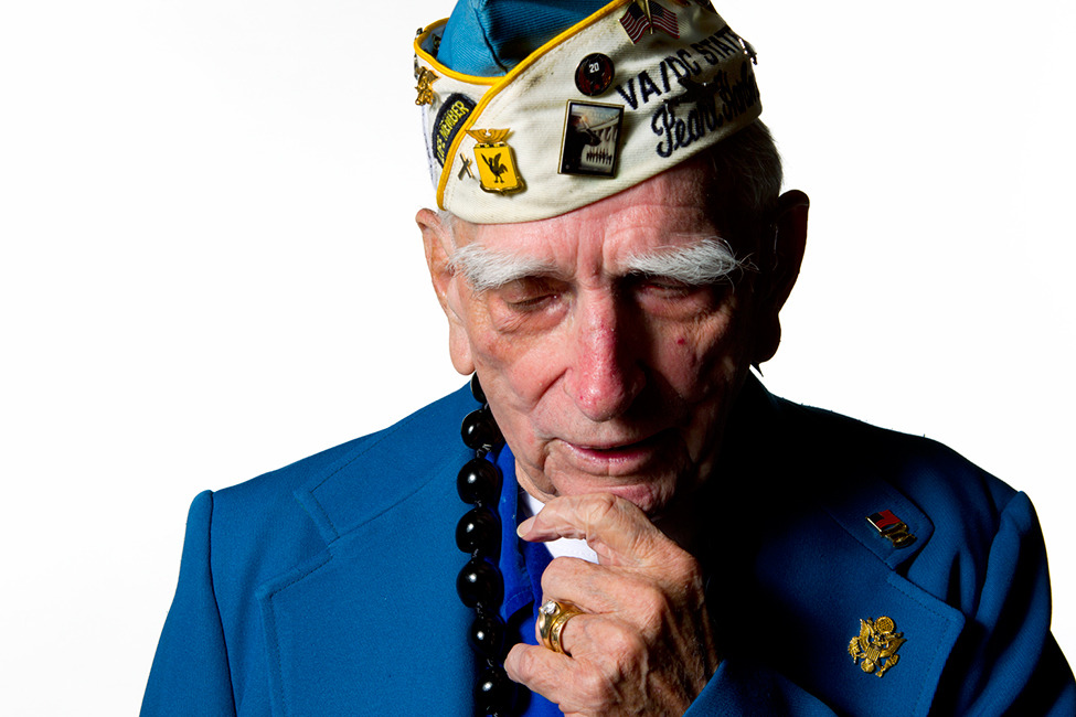 "Unflinching Portraits of Pearl Harbor Survivors  Seventy years later, only about 3,000 of the 60,000 military personnel estimated to have been at Pearl Harbor that day survive (including William Temple, above). ""We are losing this 'greatest generation' faster than we can imagine,"" says Marco Garcia, a Honolulu-based photographer who has made it his mission to photograph survivors before it is too late.  Photograph by Marco Garcia / Wonderful Machine"