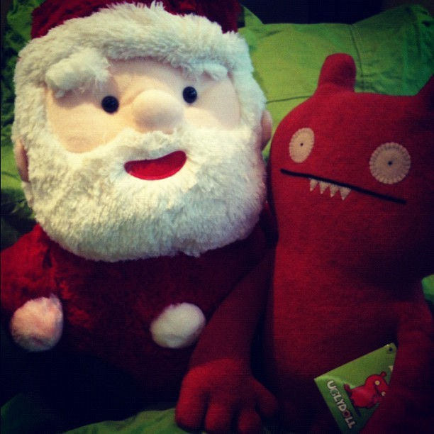 #santa #holiday #friends Friends fill the holiday season with joy! #joy (Taken with instagram)