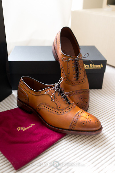 Currently, my go-to shoe dailyluxury:  Allen Edmonds – Awesome.