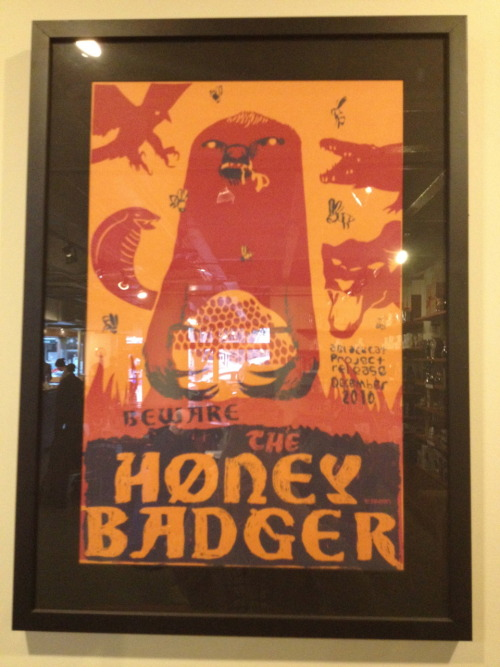 HUB 285: The Honey Badger! —He's EVERYWHERE!!! (Even at Intelli-pretensia!)  Beat Everybody!