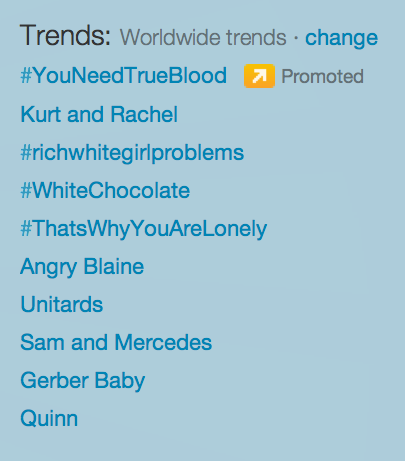 you guys, look at the worldwide trends!!!