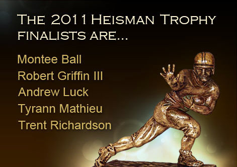 Click photo to vote in the Sportstrib 2011 #Heisman Trophy poll