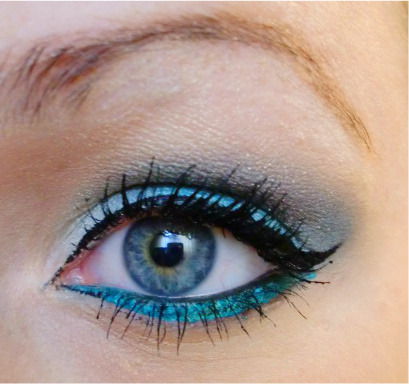 What inspires your beauty looks? Beautylish Beauty Lynn R. was inspired by the colors of the ocean!