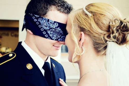 A way to have that pre-wedding moment <3 Source: Pinterest