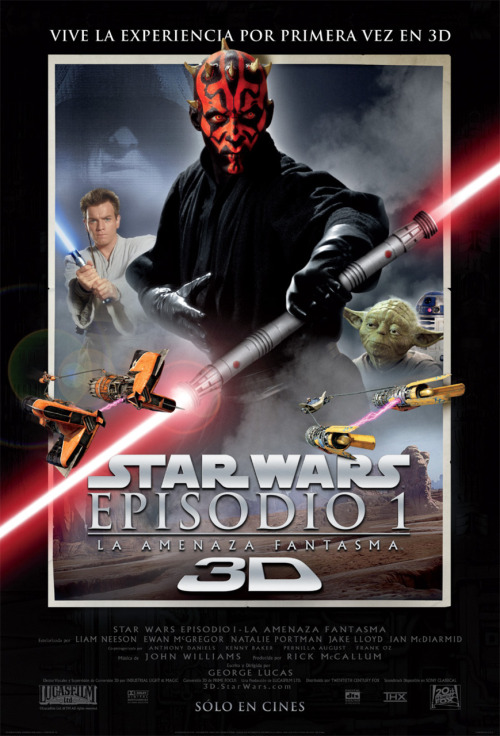 Star Wars Episode 1: Phantom Menace / Star Wars Episodio 1: La Amenaza Fantasma