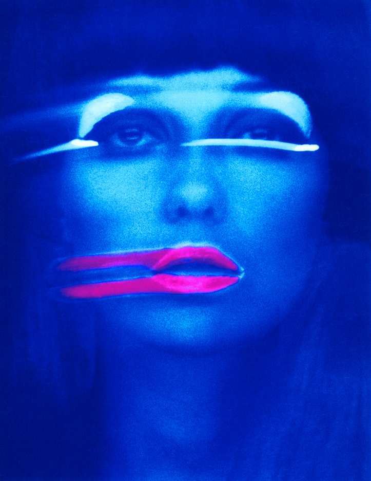 Lip Streaks (1967), photograph by Melvin Sokolsky.