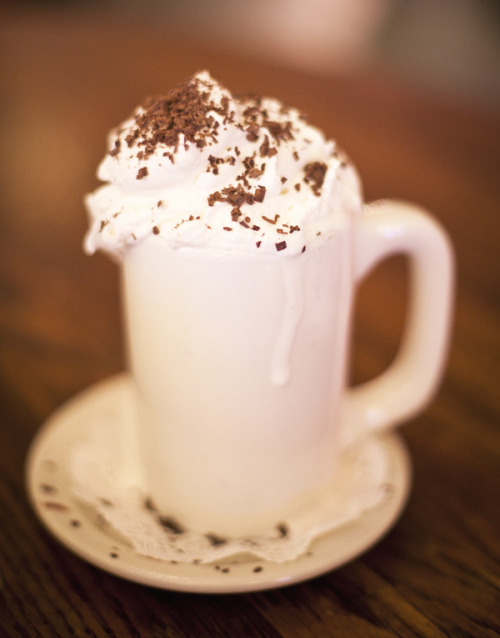 Isn't this the perfect time of the year to drink hot chocolate?