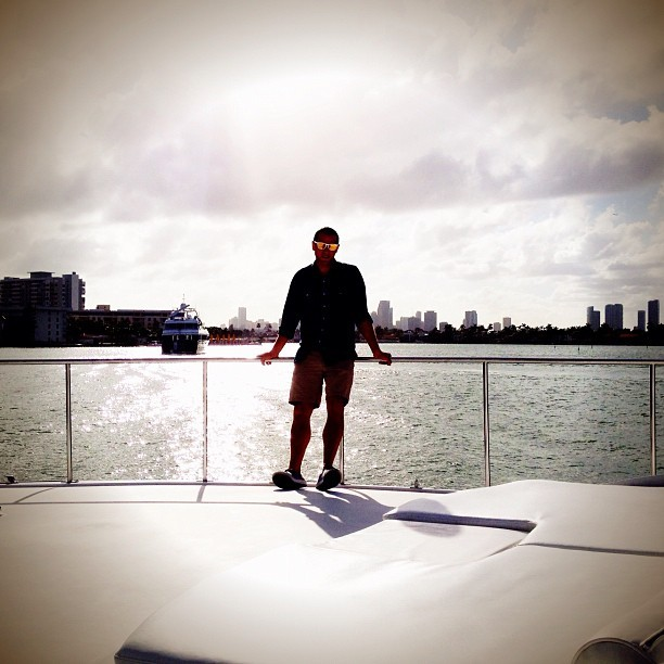 @aface1 Memories - meeting on the @me_undies yacht
