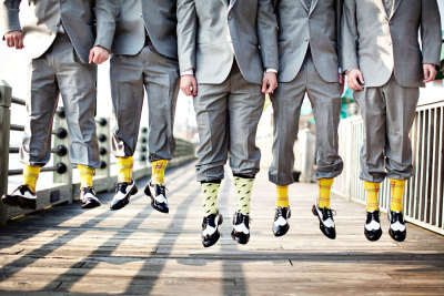 georgianadesign:  Wedding groomsman. Millie Holloman Photography.