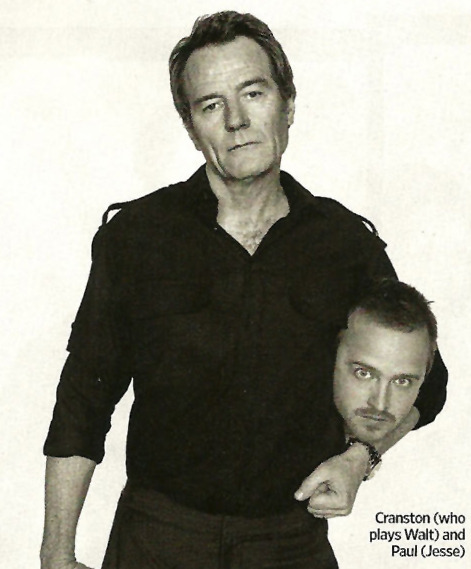 bohemea:  Bryan Cranston & Aaron Paul - Entertainment Weekly's Entertainers of the Year 2011, December 16th 2011