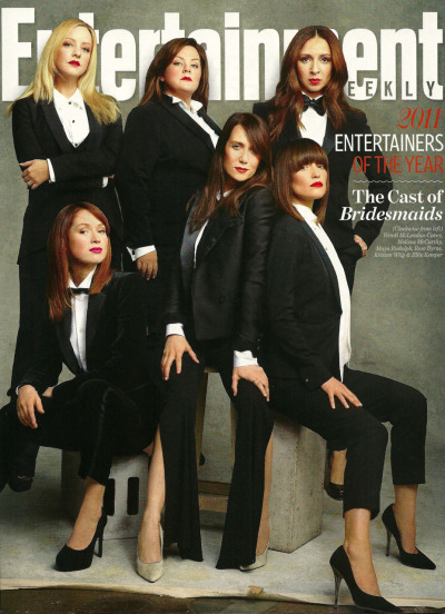 bohemea:  The Cast of Bridesmaids - Entertainment Weekly's Entertainers of the Year 2011 by Martin Schoeller, December 16th 2011