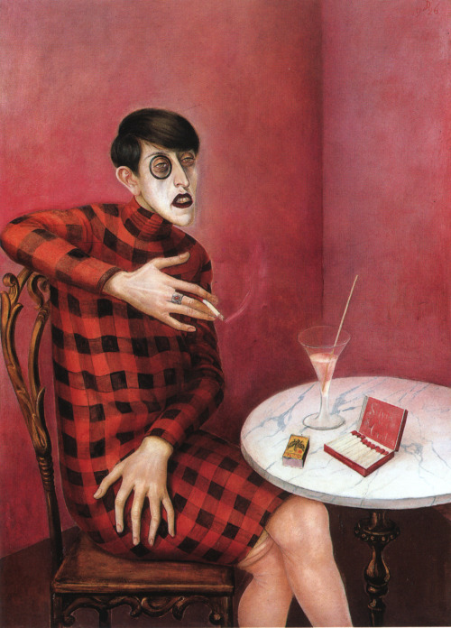 Otto DixPortrait of the Journalist Sylvia von Harden1926