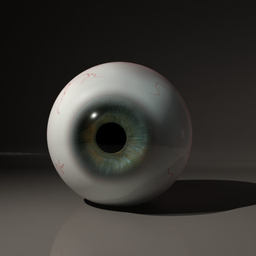 Finally Finished my eyeball:)