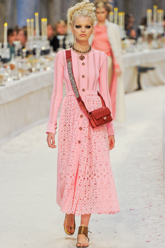 Distinguished Chanel Pre-Fall 2012. Model: Daphne Groeneveld.
