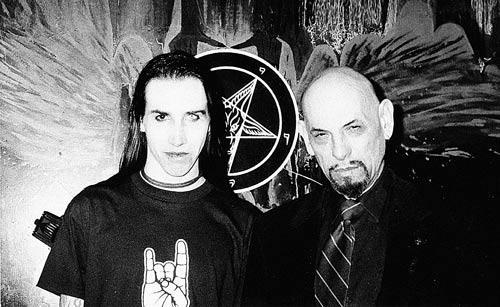 Marilyn Manson and Anton La Vey