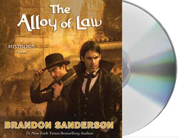 An Audiobook giveway of The Alloy of Law by Brandon Sanderson starting today on the Froggies! Come and try your luck! http://j.mp/uhVclZ