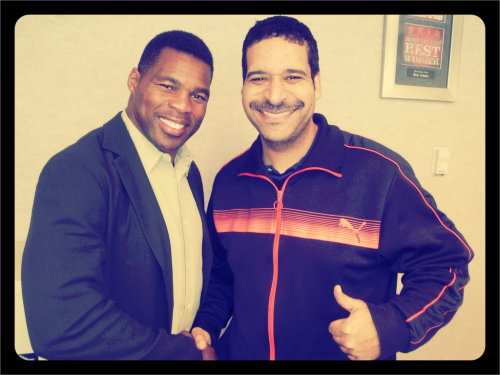 Football Legend Herschel Walker! (Taken with picplz at EL PASO, TX in El Paso, TX.)