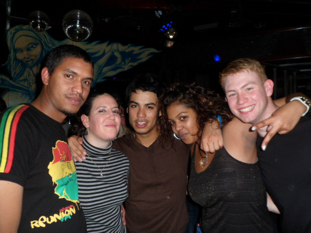 Hate my face in this but, this club was just so random. And I was definitely the whitest person there!