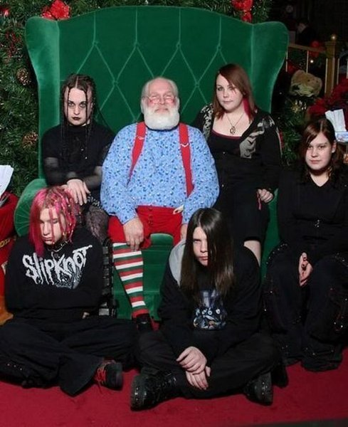 Christmas… Its just NOT metal!
