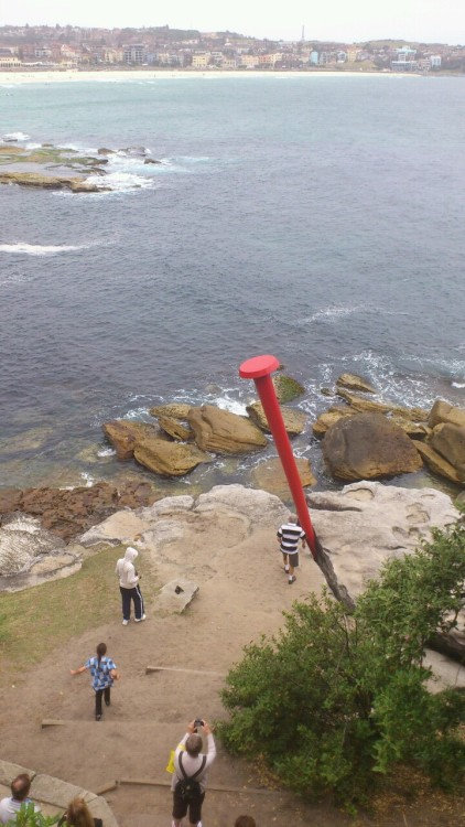 the nail, Juan Pablo Pinto & Clary Akon, Sculpture by the Sea, Bondi, 2011