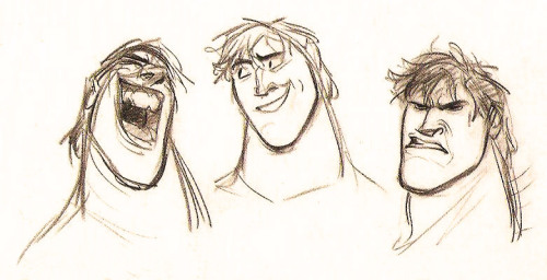 scurviesdisneyblog:  Early Flynn By Glen Keane