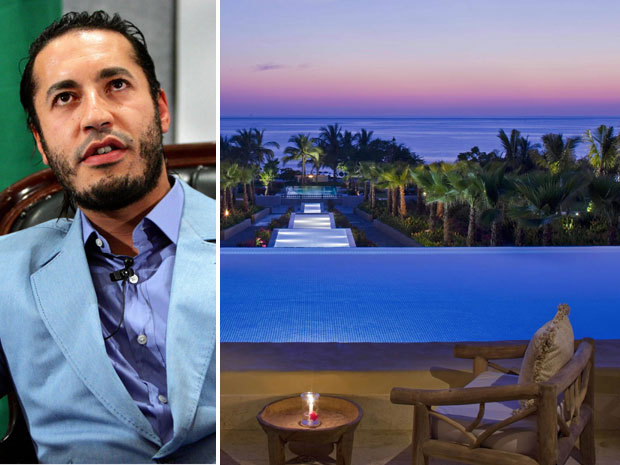 Saadi Gaddafi planned escape to luxurious home in trendy Punta MitaAfter Libyans turned against Colonel Muammar Gaddafi in February, his playboy son Saadi made plans to flee to a Mexican beach resort whose celebrity visitors include Kim Kardashian, Charlie Sheen and Lady Gaga, according to those familiar with the scheme.Although the United Nations had frozen Saadi Gaddafi's assets and banned him from crossing borders because of his close ties to the Libyan dictatorship, a multi-million-dollar refuge awaited him in Punta Mita, a posh development near Puerto Vallarta on Mexico's Pacific Coast.