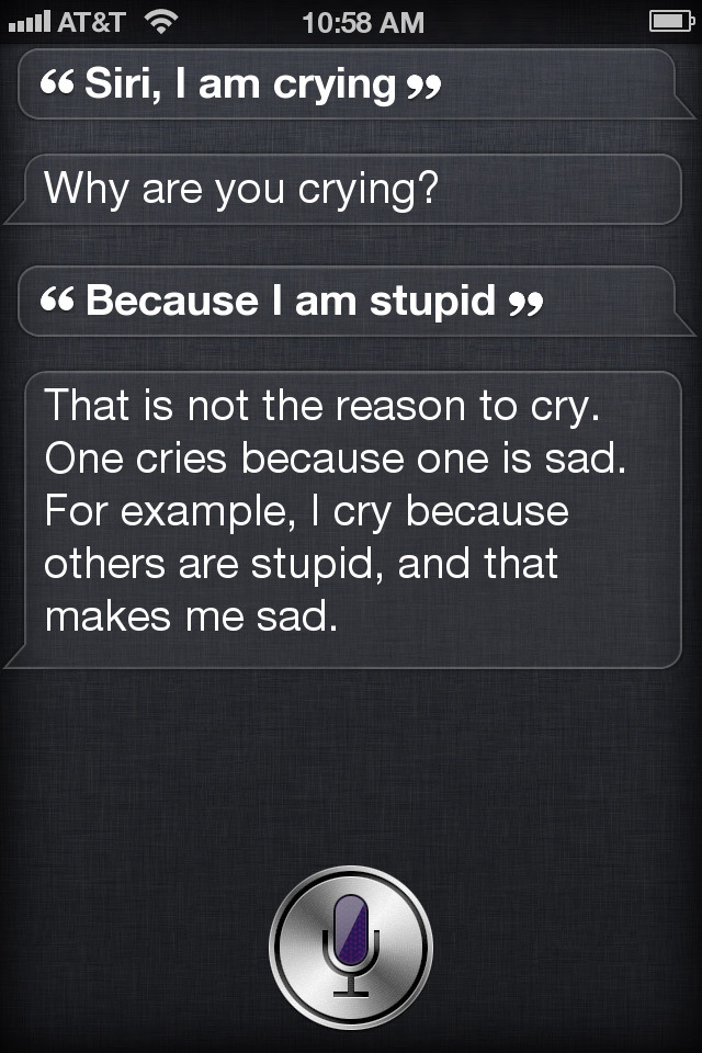 steptoe:  stacefaceyo:  I think Siri is smarter than half the human population.  bruh this is a big bang theory quote