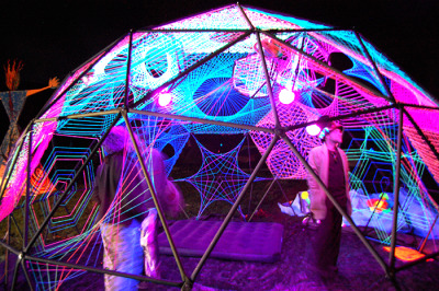 psykzz:   String Theory Dome at Apogaea 2011