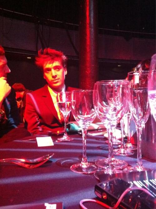 Paolo at the UK Festival Awards