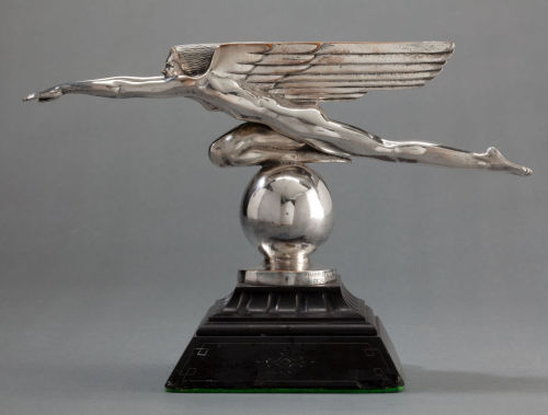 Speed (silvered bronze, c.1921) – Harriet Whitney Frishmuth (American, 1880–1980)