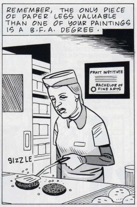 Art School Confidential, Daniel Clowes