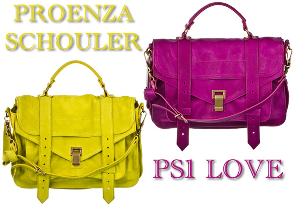Feeling an extreme case of Proenza Schouler Love today.