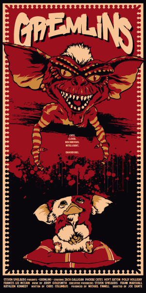 Gremlins by Dan Sherratt / Blog (via xombiedirge)