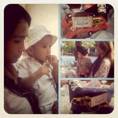 Pirate Sid turns 1! :)) #luvUbbSid (Taken with instagram)