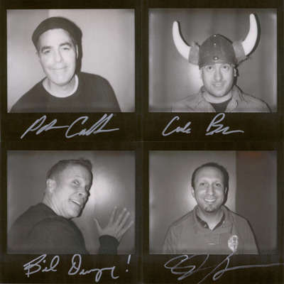 Original portroids from PARDCAST-A-THON 2011 up for auction now! 100% of proceeds benefit Smile Train. This set includes: Adam Carolla, Caleb Bacon, Bil Dwyer, and Eliot Hochberg.
