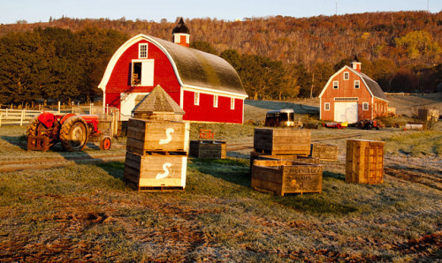 Farm in Nova Scotia  by Mawele (Mawele Digital Photography)