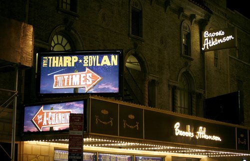 Brooks Atkinson Theatre: The Times They Are A-Changin' (2006)