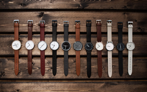 theblackworkshop:  A selection of watches on wood