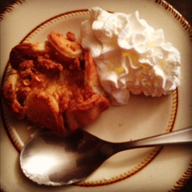 Dessert - #Apple #Blossom from #TraderJoes #food #dessert #whip #cream #instafood #iphotography #iphone4s #favorite (Taken with instagram)