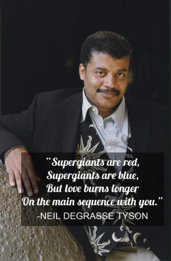 While red supergiants and blue supergiants are very luminous, their existence in that phase is relatively brief (10 to 100 million years). Stars that are smaller, cooler, and less luminous, found on the lower end of the main sequence (like our sun) can remain stable for up to 20 billion years. Neil DeGrasse Tyson did not discover this, but we used his picture because he is the coolest of all astronomers.-JC
