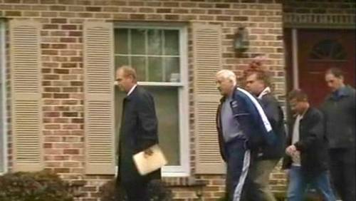 msnbc:  Jerry Sandusky has been re-arrested at his home in State College, Pa. on new sexual abuse charges involving boys, with bail set at $250,000. The testimony in the latest charges is gut-wrenching: A young man told a grand jury that Sandusky's wife ignored his screams for help while Sandusky raped him in the basement of their home.  Sadly, more and more it's sounding like we could have taken the question mark out of the headline: The Wives of Sex Offenders: Was Dottie Sandusky Complicit?