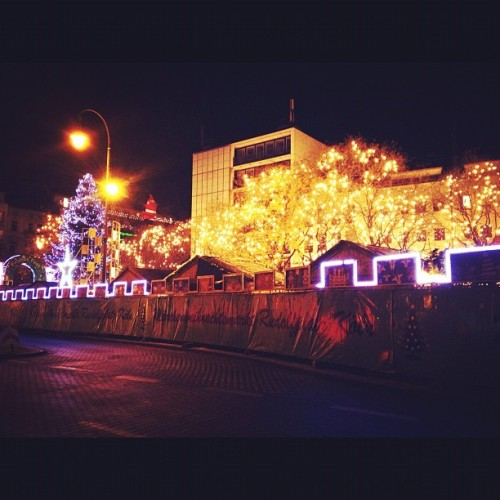 #xmas #christmas #cologne #köln #germany #night #lights  (Taken with instagram)