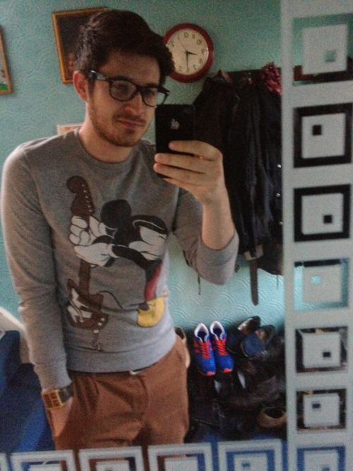 Today's wiwt with added beard and Micky Mouse (not a primark rip off one either!)