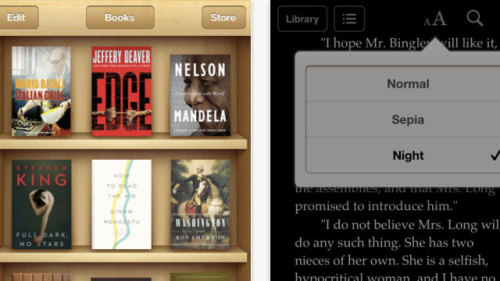 Apple Updates iBook to Add New Themes and Fonts (via Apple Updates iBook to Add New Themes and Fonts)