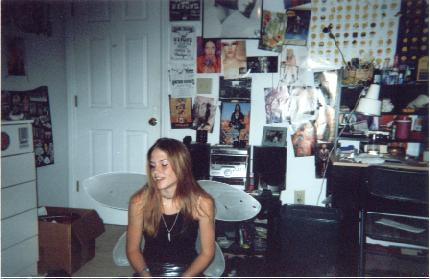 Found this OLD picture today.  I think I was about 15?