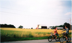 Bicycles! (Film) by ClickFlashPhotos / Nicki Varkevisser on Flickr.apparently this is on film soooo super kudos to you!