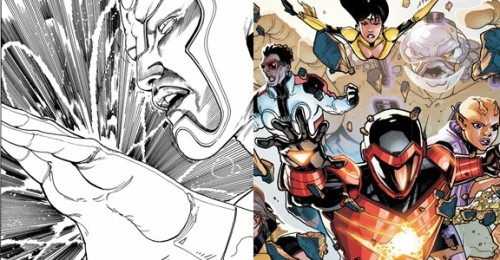 comicsalliance:  UPDATED: DC Shakeup: Gail Simone Off 'Firestorm,' Tom DeFalco on 'Legion Lost', Cornell Off 'Stormwatch'  By Andy Khouri DC Comics confirmed this week some personnel changes for two of its New 52 superhero titles. Specifically, Gail Simone will no longer be Ethan Van Sciver's co-writer of The Fury of Firestorm: The Nuclear Men following February's issue #6. She will be replaced on the title by Joe Harris of Oni's Ghost Projekt (in development as a series for SyFy), who will co-write the title with Van Sciver. Legion Lost will say goodbye to series writer Fabian Nicieza with issue #6, also on sale in February. Nicieza will be replaced by Tom DeFalco, who of course was once the editor and chief of Marvel Comics. Pete Woods will continue to draw the title. DC confirmed via a post to The Source that Batman: The Dark Knight and DC Universe Presents Deadman writer Paul Jenkins will pen a two-issue story for Stormwatch in issues #7-#9. Regular Stormwatch writer Paul Cornell tweeted that he will indeed leave the title, with February's issue #6 being his last. Cornell will remain on Demon Knights and his Vertigo series Saucer Country. No word yet on who will follow Jenkins after his short run.Read more on this at ComicsAlliance.  I haven't read issue #4 of Stormwatch yet… Too disappointed by the last three issues, I can't see this next one being better. Which is why I'm sad to say that I'm happy that Cornell is leaving the title. The guy seems decent, and maybe his other stuff is better, but Stormwatch was really not working for him. The writing was honestly embarrassing. I wish him well on his other titles. Now, that leaves me kind of worried and Midnighter and Apollo. I mean, they're the reason I'm reading Stormwatch, no doubt. Not them as a couple— just them. But they are a couple…something Cornell said he was committed to developing. So what about whoever else comes on? Are they gonna continue on in that vein? And they gonna reinstate their relationship? Are they gonna do it better than Cornell was doing it? I'm just worried that they're gonna go the way of the most recent Midnighter series…Ignoring the fact that he's a committed and loving partner in addition to the homicidal tendencies. My faith was shaken with Cornell, but luckily I'm stupid hopedful. Maybe this will improve?