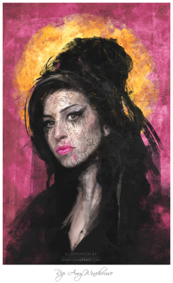 Amy Winehouse by www.samspratt.com