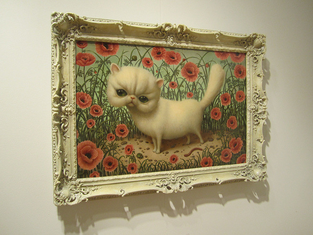 Painting by Marion Peck, Mark Ryden's wife