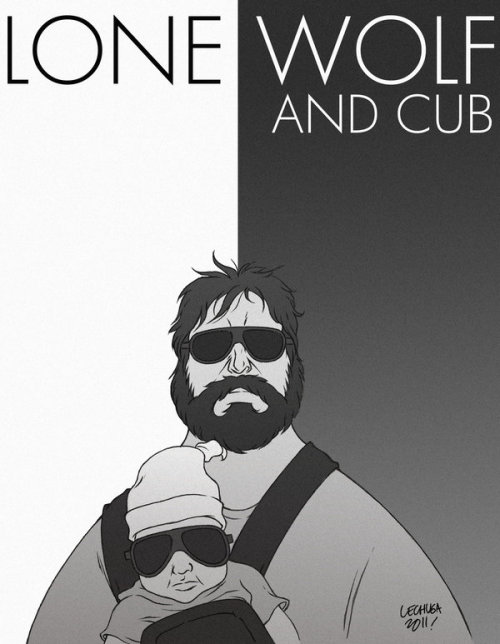 Zach Galifanakis by Jonas Lechuga